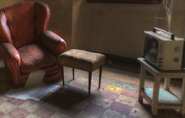 Picture chair, TV, chair