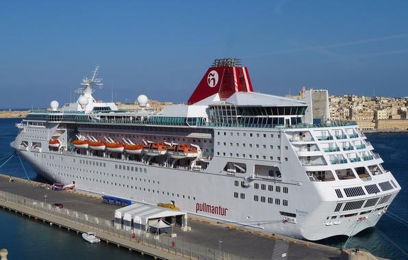 Picture sea, photo, ship, pier, pierce, cruise liner