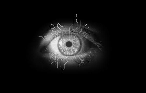 Picture Minimalism, Eyes, Black Style