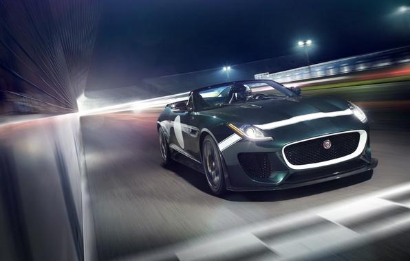 Picture car, Jaguar, Jaguar, in motion, rechange, F-Type, Project 7