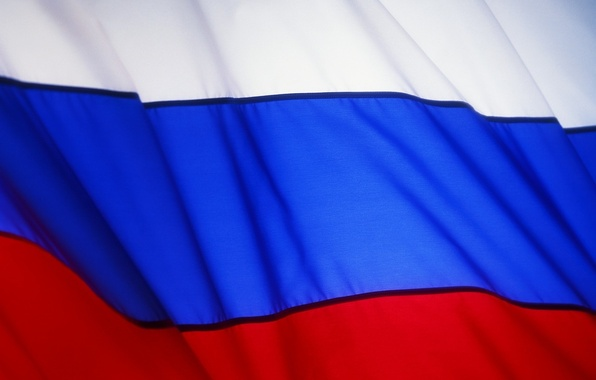 Picture flag, flags, Russia, tricolor