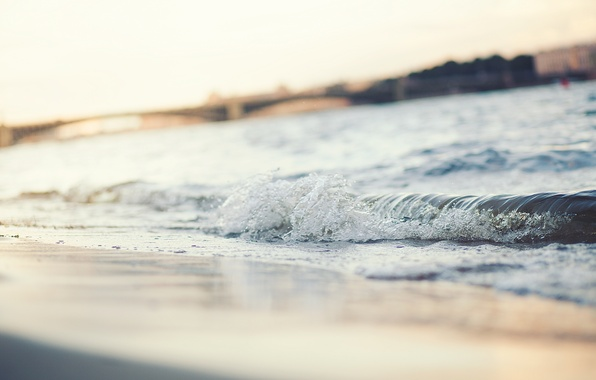Picture sand, beach, wave