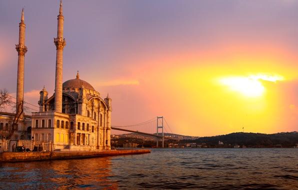Picture landscape, nature, city, the city, beautiful, landscape, nature, beautiful, sunlight, sunlight, the Bosphorus, Sea of …