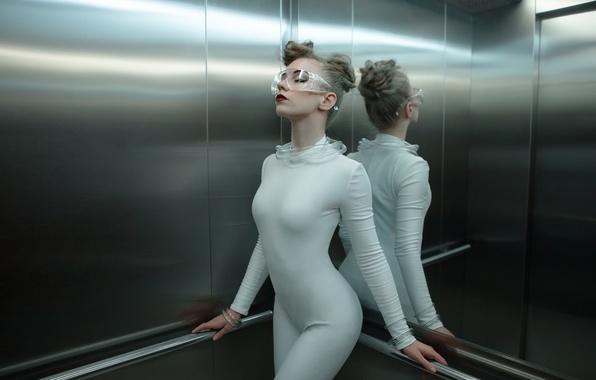 Picture girl, future, costume, Science Fiction Fashion