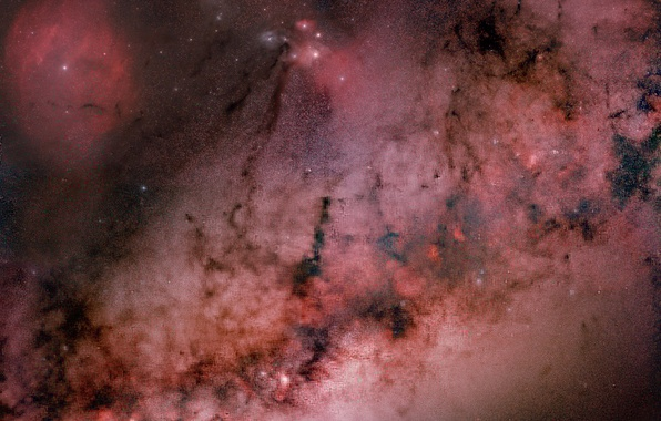 Picture space, nebula, stars, constellation, NGC 6611, Eagle, the universe