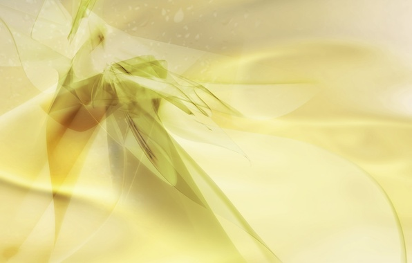 Picture yellow, abstraction, green, background, texture