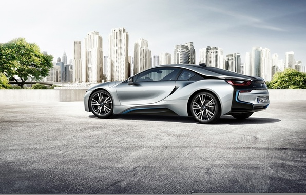 Picture car, auto, the city, BMW, auto wallpaper, BMW i8