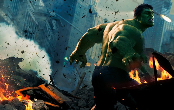 Picture Hulk, Hulk, Green, The Avengers