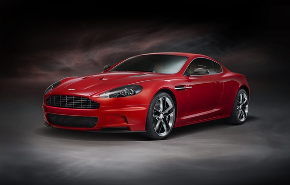 Picture Aston Martin, DBS, red, Vanquish