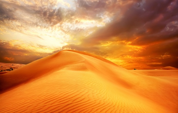 Picture sand, the sky, clouds, landscape, nature, desert, dunes, sunrise, sky, desert, landscape, nature, clouds, sand, …