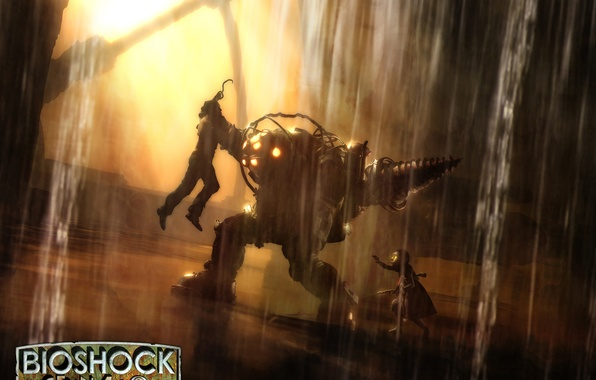 Picture Water, The suit, Girl, Daddy, BioShock
