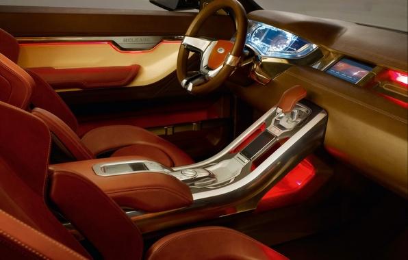 Picture Salon, the wheel, Land Rover