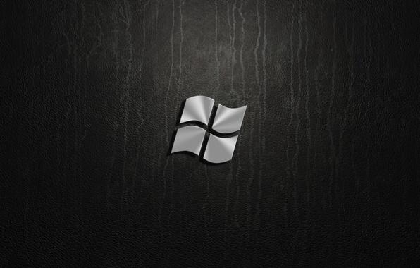 Picture silver, windows, logo