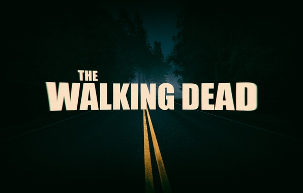 Picture road, night, the film, the series, Thriller, horror, the walking dead, The Walking dead