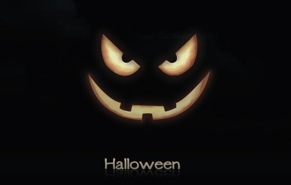 Picture smile, holiday, pumpkin, Halloween, halloween