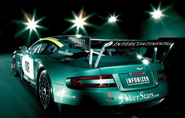 Picture machine, auto, Aston Martin