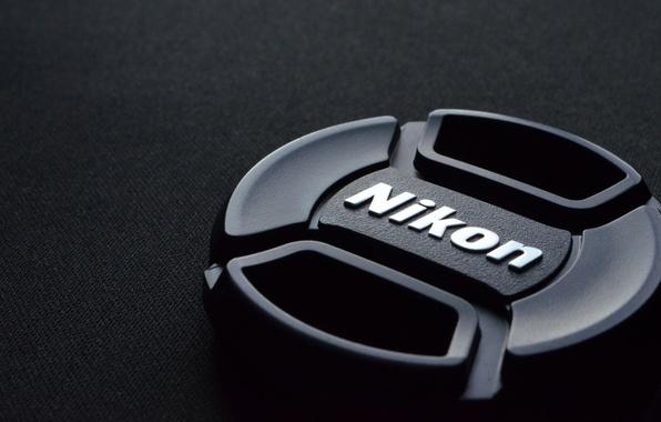 Photo wallpaper Macro, Black background, Nikon, Cover, from QLZ
