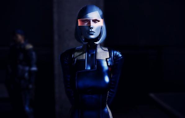 Picture Mass Effect, EDI, Susie, visor