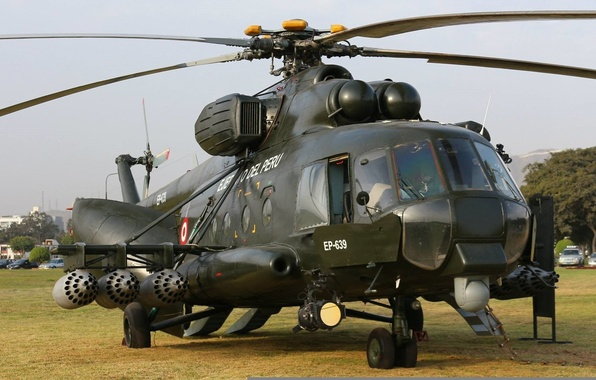 Picture BBC, weapons, Helicopter, Mi-8, Peru, AMTSH, Mi-171
