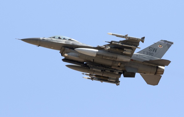 Picture weapons, army, the plane, Lockheed (GD) F-16CM Viper