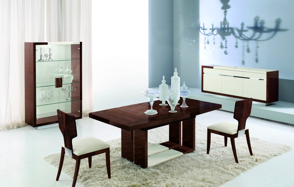 Wallpaper room style interior dining room design for Dining room 640x1136