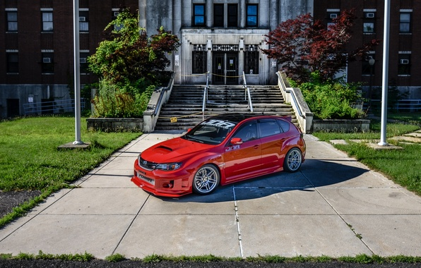 Picture car, subaru, wrx, impreza, tuning