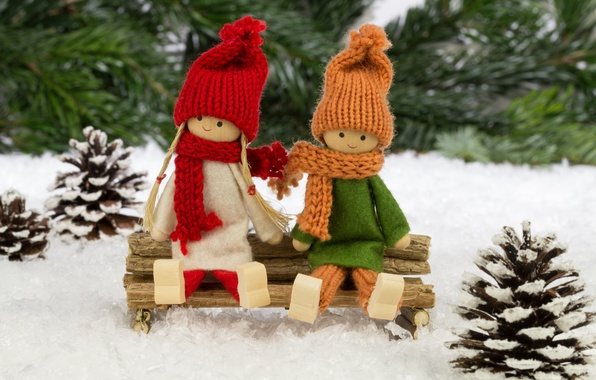 Picture decoration, toys, tree, doll, New year, new year, toys, Merry Christmas, decoration, Merry Christmas, Christmas …