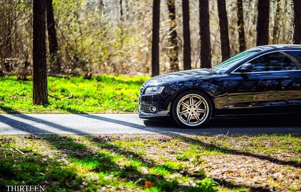 Picture machine, auto, reflection, Audi, Audi, photographer, auto, photography, photographer, Thirteen, Mark Litovkin, A5 Coupe