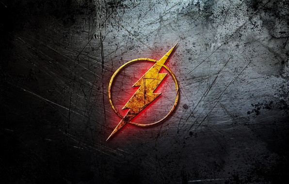 Picture background, lightning, comics, Logo, Flash, flash, DC Comic