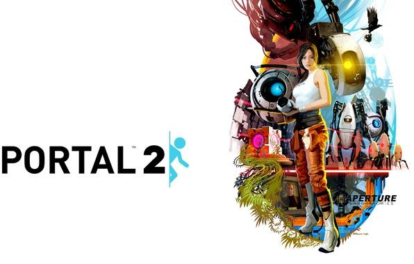 Picture Girl, Robots, Portal, The portal, Portal 2, glados, The portal gun, Module, Wheatley, the companion …