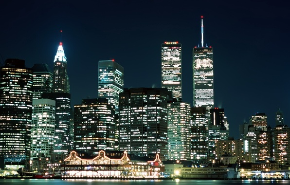 Picture The evening, New York, Lights