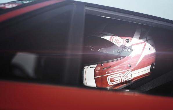 Picture race, helmet, car, Blik, Pilot