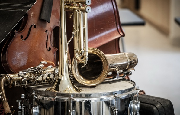Picture music, violin, pipe, instrumento, shock, saxophone