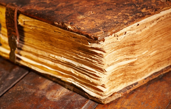 Picture old age, book, page, cover