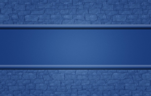 Picture blue, wall, strip, texture