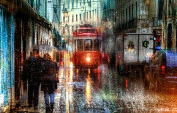 Picture rain, Portugal, Lisbon