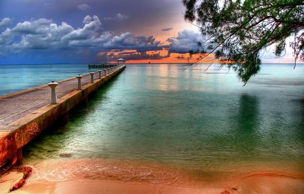 Picture Beach, Pier, Tropics
