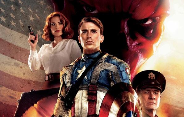 Picture Captain America, Red Skull, Chris Evans, Hugo Weaving, Hugo Weaving, The first avenger, Chris Evans, …