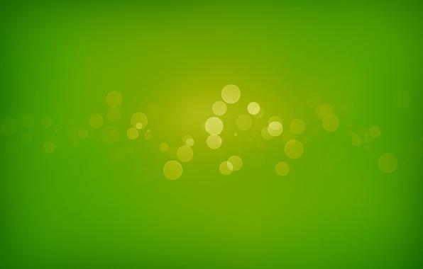 Picture circles, green, green, patterns, paint, colors, circles, patterns, bokeh, bokeh, abstraction, 1920x1280, abbraccia