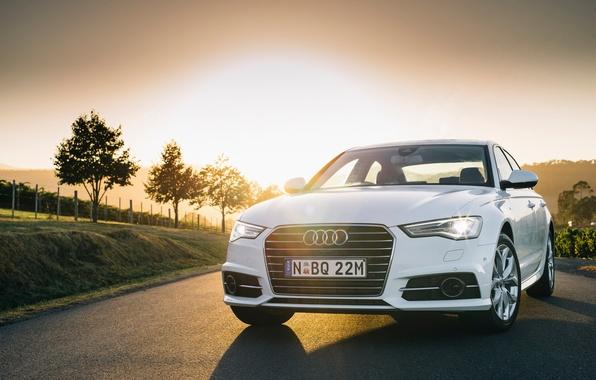 Picture Audi, Audi, TDI, white, sedan, quattro, Sedan, Quattro, AU-spec, 2015, S line