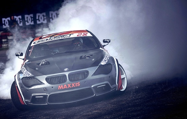 Picture BMW, drift, 6 Series, Coupe E63
