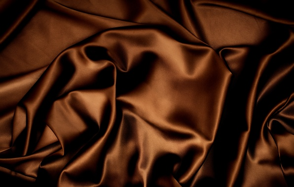 Picture background, texture, silk, fabric, Atlas, brown, satin, chocolate