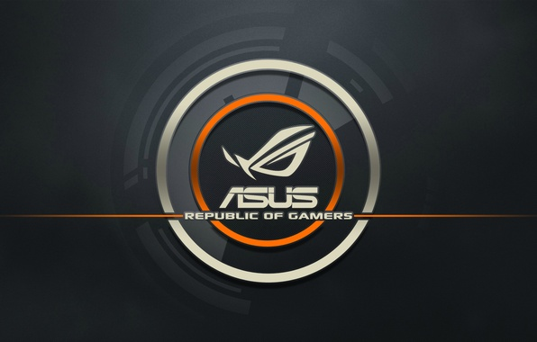 Picture logo, computer, ASUS
