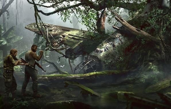 Picture Trees, Weapons, Jungle, Technique, Sniper, 2K Games, Equipment, Mafia III, Mafia 3, Hangar 13, Lincoln …