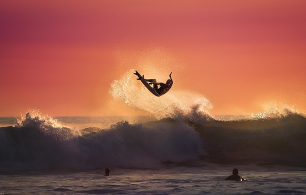 Picture wave, summer, water, the ocean, sport, sport, summer, ocean, water, surfing, surfing