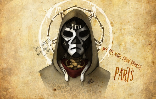 Picture Mask, Funny Man, Hollywood Undead, Notes from the Underground