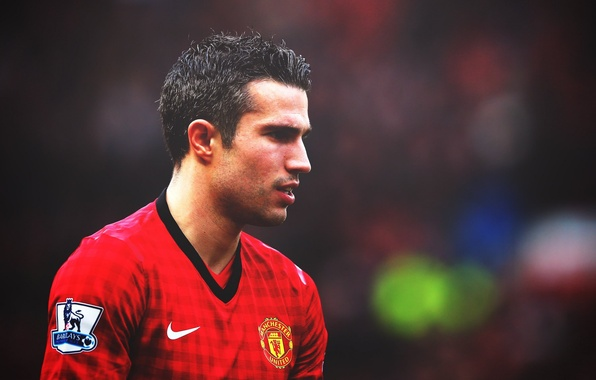 Picture football, club, form, player, goal, football, player, Robin, Manchester United, Manchester United, Netherlands, Robin van …