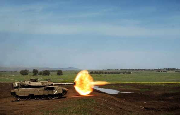 Picture shot, Tank, polygon