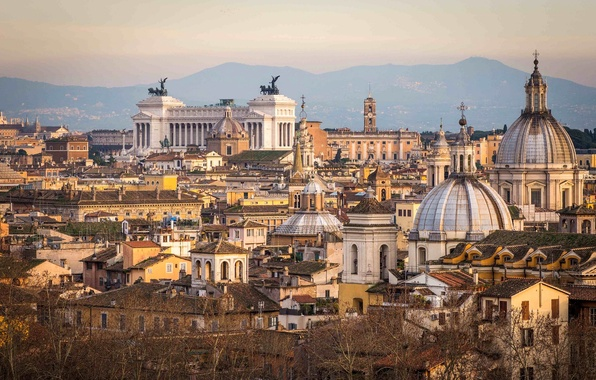 Picture the city, building, home, Rome, Italy, panorama, architecture, Italy, Rome