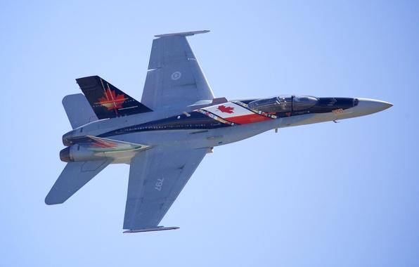 Picture fighter, multipurpose, Hornet, McDonnell Douglas, CF-18